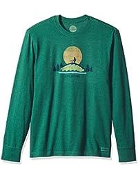 Men's Crusher Long Sleeve Hike Vista Htfrgr T-Shirt,