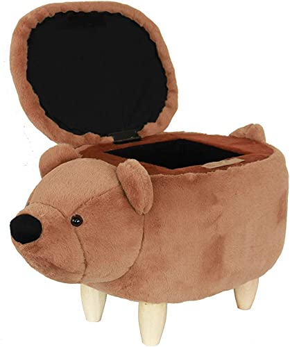 HAOSOON Animal ottoman Series Storage Ottoman Footrest Stool