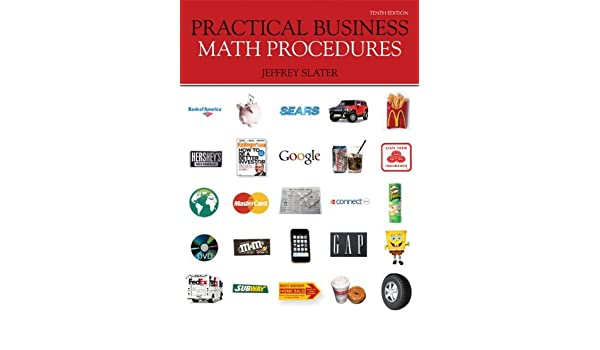Practical business math procedures with business math handbook.