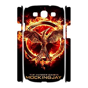 TOSOUL The Hunger Games Customized Hard 3D Case For Samsung Galaxy S3 I9300