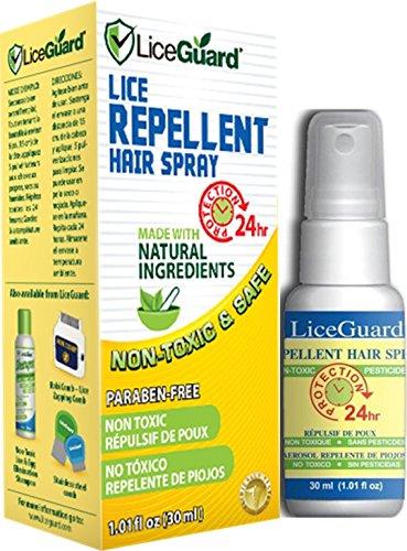 - LiceGuard Lice Repellent Spray - 1oz