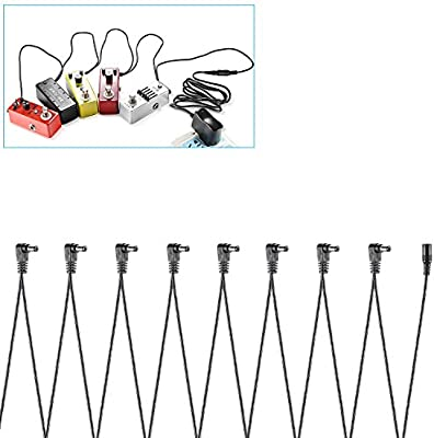 Neewer 8 Vías electrodos Daisy Chain Cable para guitarra pedal de ...