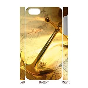 3D Bumper Plastic Case Of Anchor customized case For Iphone 4/4s by rushername