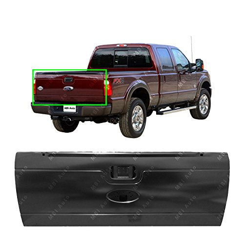 MBI AUTO - Primered, Steel Tailgate Shell for 2008-2016 Ford Super Duty Pickup 08-16, (Super Duty Pickup Tailgate)