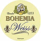 Bolacha Chopp Bohemia Weiss Caixa Com 24 Bolachas Ambev Branco