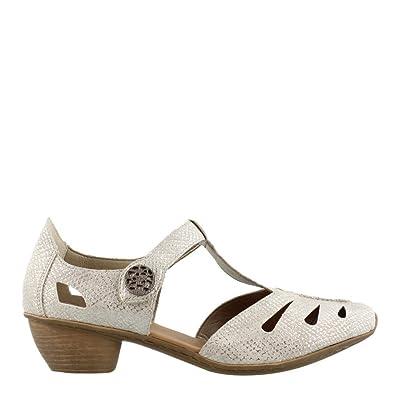 63f422350e4b0 Rieker Women's, 43750 Low Heel Pumps