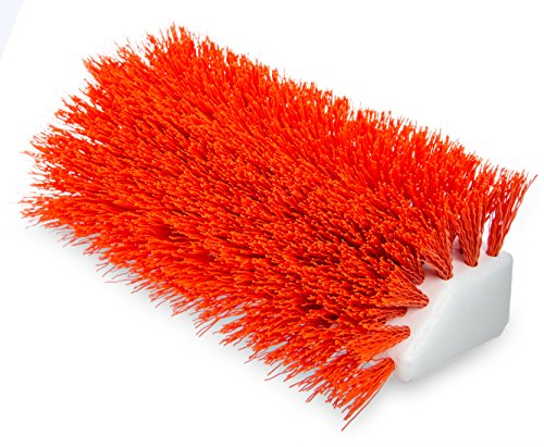 Carlisle 4042324 Hi-Lo Floor Scrub Brush, Orange (Pack of 12) by Carlisle