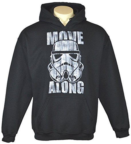 Airbrushed Clothing (Exotic Gamer Gear Themed Star Wars Storm Trooper Airbrushed Hoodie, Adult, Medium, Black)