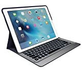 Logitech Create Backlit Keyboard Case with Smart Connector for iPad Pro(12.9-Inch) - Navy Blue(Certified Refurbished)