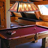 Wellmet Vintage 3-Light Pool Table Light Pendant