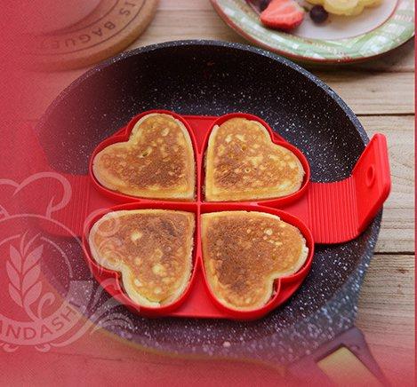 lanyani (lote de 2) perfecto antiadherente tortitas molde de ...