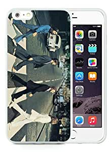 Beatles' Abbey Road White Durable iPhone 6 Plus 5.5 Inch Silicone TPU Phone Case