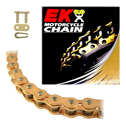 - EK Motorcycle Chain Chain 318GD-520MRD7-120 520MRD7 Series Chain - 120 Links - Gold , Chain Application: Street, Chain Length: 120, Chain Type: 520, Color: Gold