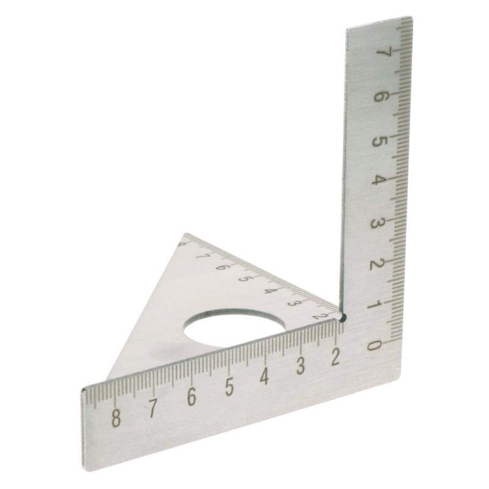 Putuio Square Miter Rafter 45 90 Degree Metric Gauge Woodworking Ruler