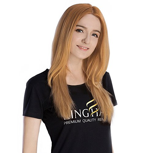 Dirty Angel Costume (KINGHAIR Dirty Blonde(#18) Clip In Remy Hair Extensions - 18 Inches - 130G Full Head Set)