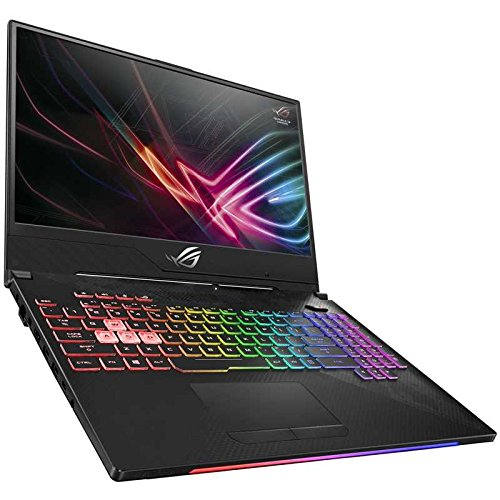 ROG Strix SCAR II Gaming Laptop, GL504 15.6 144Hz IPS-Type Slim Bezel Display, GeForce GTX 1070 8GB, Intel Core i7-8750H Processor (up to 3.9GHz), 256GB PCIe SSD + 1TB SSHD, 16GB DDR4, RGB Keyboard