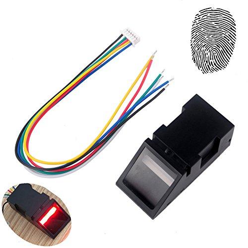 (Optical Fingerprint Reader Sensor Module for Arduino Mega2560 UNO R3 51 AVR STM32 Red Light DC 3.8-7V)