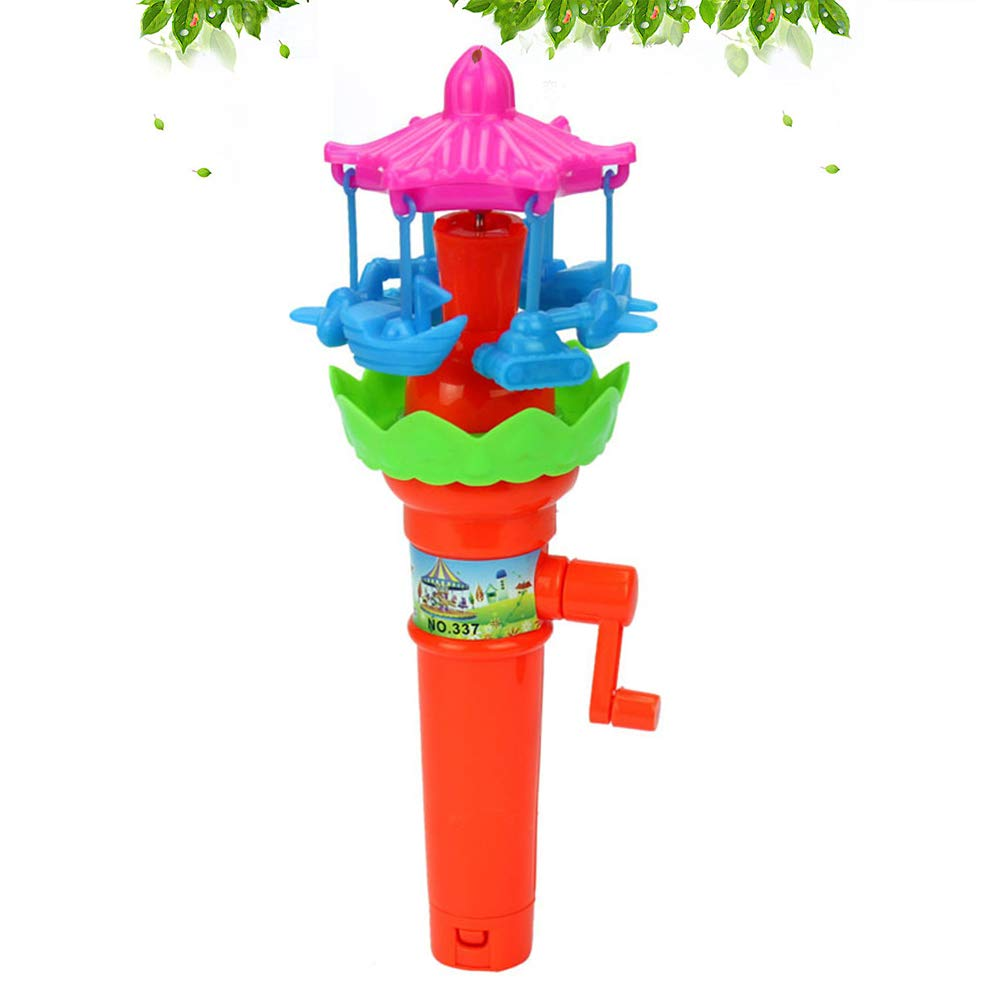 YeahiBaby Handle Rotary Toys Lighting Rotating Paradise Educational Development Toys 1pcs Mix Styles and Colors