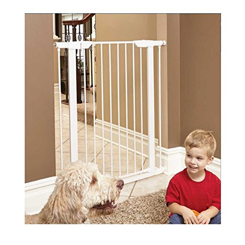 Fairy Baby Easy Step Walk Thru Pet and Baby Gate Expandable 29.5'' High,Fit Spaces 40.55''-43.31'' by Fairy Baby (Image #2)