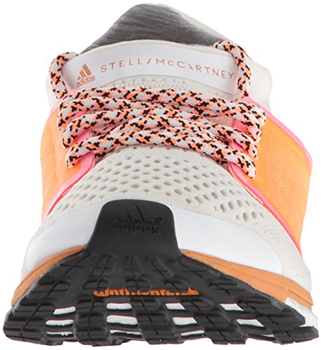 Zapatillas Adidas Hombres Adizero Adios Running White / Glow Orange / Hyper Pop