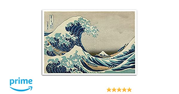 FAST SHIPPING 22 X 34 Beautiful The Great Wave off Kanagawa