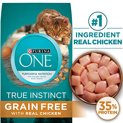 dry cat food chicken - 5