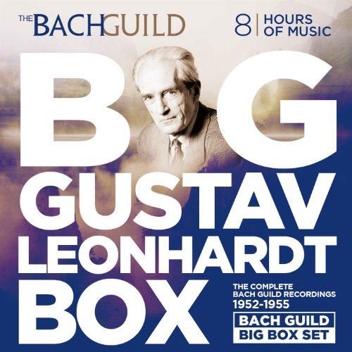 (Big Gustav Leonhardt Box The Bach Guild Recordings 1952-1955)