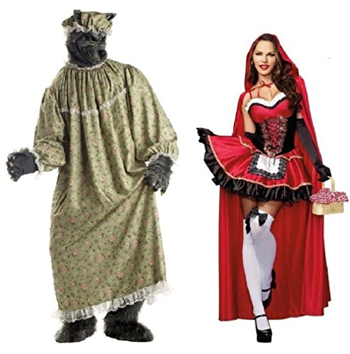 Little Red Riding Hood Wolf Slayer Costumes - Adult Little Red Riding Hood and