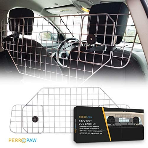 Dog Car Barriers for SUV – Adjustable Dog Gate for Car SUV or Other Vehicle, The Perfect Dog Dividers for SUV Adventurers