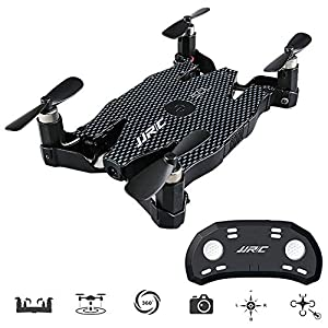 Jjr/C H37 Mini Baby Elfie Selfie Drone WiFi FPV Drone with 720P Camera, App&G-Sensor Remote Control Support Picture Video Real-Time transmition 51dfUEfJh5L