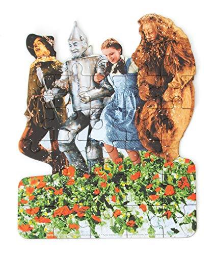 (Playhouse Wizard of Oz Poppy Fields 26-Piece Die Cut Shaped Mini Puzzle for Kids)