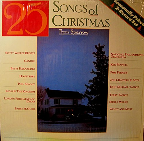 25 Songs of Christmas from Sparrow Records (Christmas Records Sparrow)