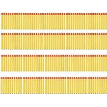 TOPCHANCES 100pcs Soft Mega Refill Bullet Darts Foam Darts for Nerf N-strike Elite Series