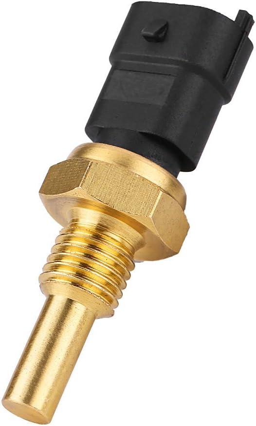 Sensor de Temperatura del Refrigerante, Ventilador de Refrigeración del Radiador Eléctrico del Coche Sensor de Termostato de Temperatura del Refrigerante para 90541937: Amazon.es: Coche y moto