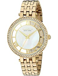 CARAVELLE NEW YORK 44L170 Ladies' Crystal Watch