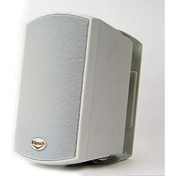 Amazon Com Klipsch Aw 650 Indoor Outdoor Speaker Black