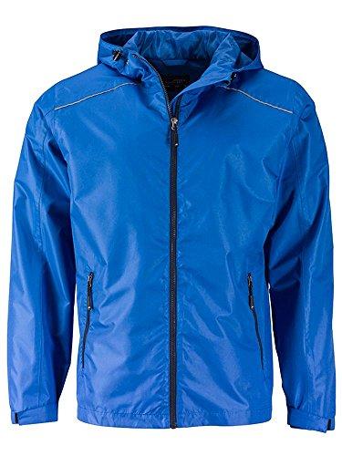 Pioggia navy Jacket Giacca Funzionale Casual Da Rain Men's E Royal nZZOw