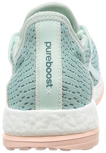 adidas Pureboost X, Zapatillas de Running para Mujer Multicolor (Menhie / Acevap / Rosvap)