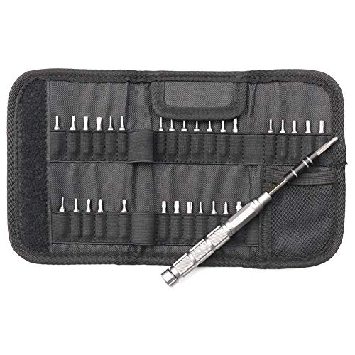 (Precision Screwdriver Set, Matefield 31 in 1 Magnetic Driver Kits Portable Electronics Repair Tool Kit for Electronics Cellphone PC Tablet)
