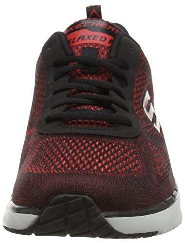 Skechers Skech Air - Infinity Relaxed Fit - Zapatillas de deporte exterior Hombre Rojo - Red (Red Rdbk)