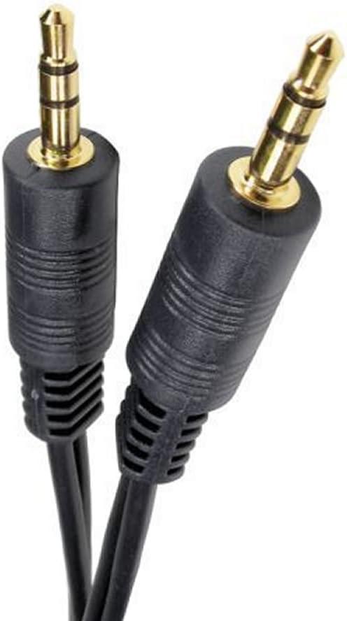 Cables de Audio kenable 000223 Cable de Audio 1,5 m 2 x 6,35mm 2 x RCA Negro 2 x 6,35mm, Macho, 2 x RCA, Macho, 1,5 m, Negro