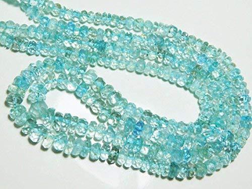 "1 Strands Natural Green Pink Blue Aquamarine Beryl Morganite Round Loose Gemstone Beads 4mm 16"" by Gemswholesale"