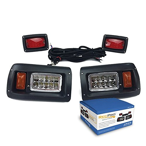 RecPro New Club CAR DS Golf CART All LED Light KIT 1993 & UP