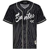 Camisa Kappa Baseball Santos Preta