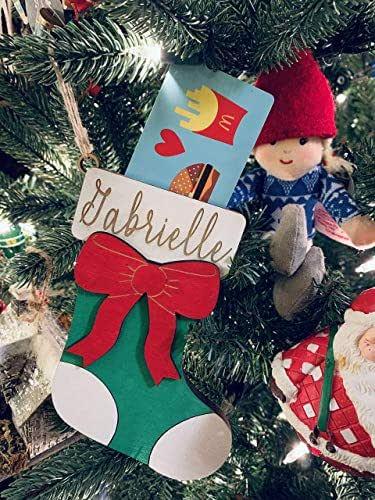 Amazon.com: Personalized Christmas Ornament - Stocking ...