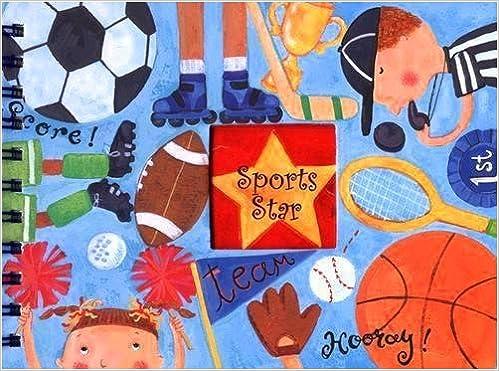 Livre anglais téléchargement gratuit pdf Sports Star, Scrapbook it Jr.  1595016848