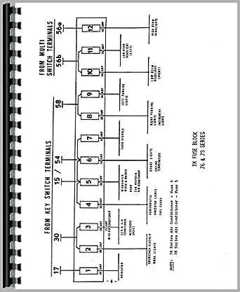 deutz allis d4006 tractor wiring diagram service manual amazon ca rh amazon ca agco allis 6690 wiring diagram agco allis lawn tractor wiring diagram