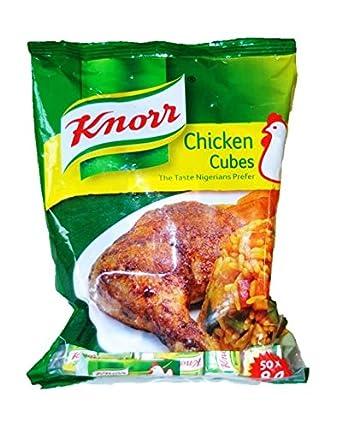 Knorr Nigerian Chicken Stock Cubes (50 Cubes) 400g