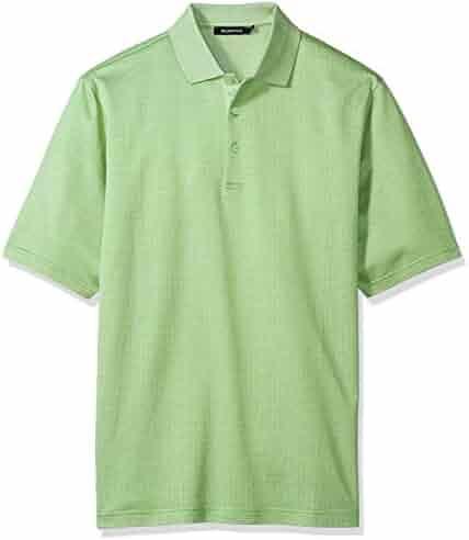 BUGATCHI Men's Desmond Short Sleeve Polo Shirt