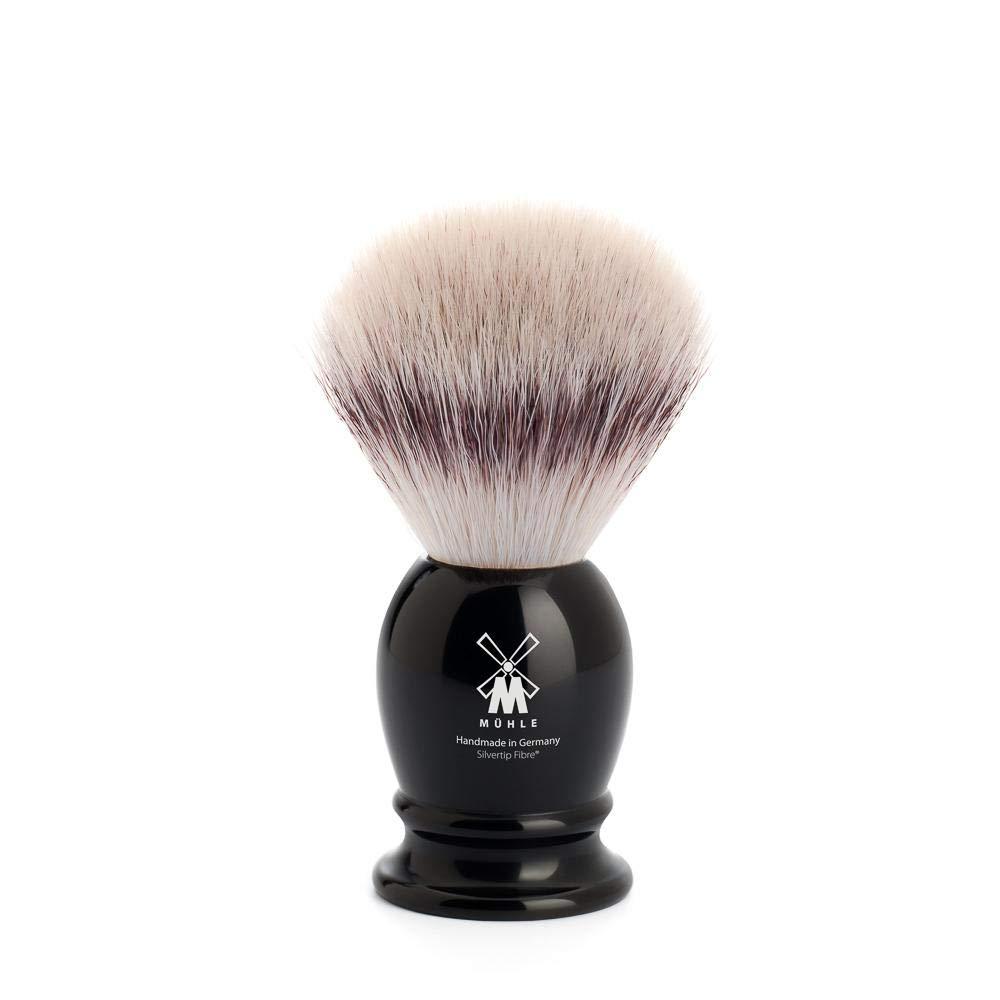 MÜHLE Classic Small Black Silvertip Fiber Shaving Brush